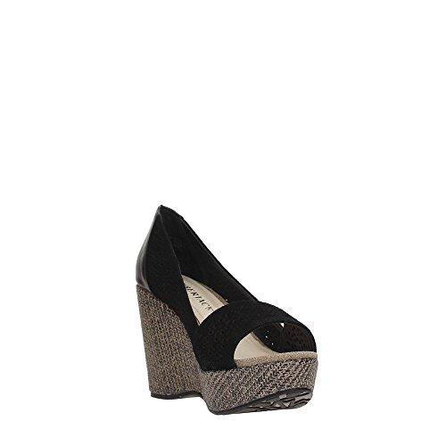 Lumberjack SW30906-003 A03 Zapatos De Cuña Mujer Black