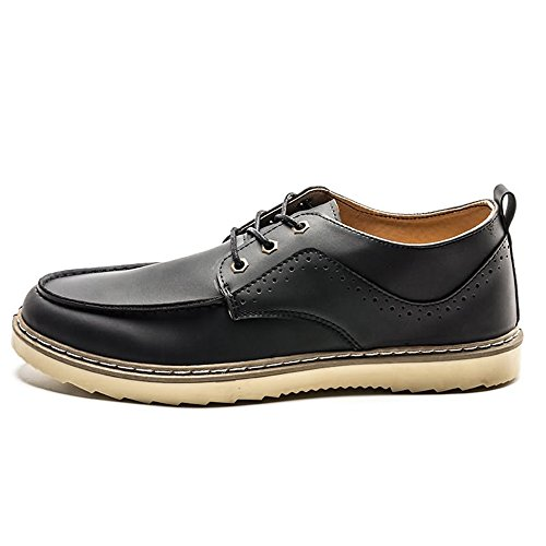 Stile Xujw Nuovo Mocassini Uomo Scarpe Dark 2018 Casual Gray Inglese da shoes rgq18wr