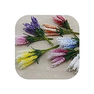 UNstars Artificial Flowers 10Pcs Lavender Foam Artificial Flowers 16