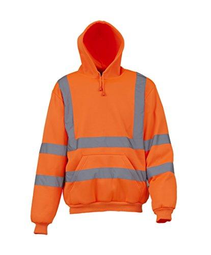 Yoko High Visibility Pullover Hoodie - Orange or Yellow /...