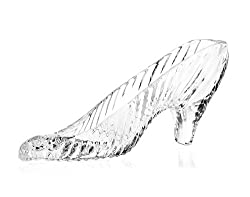 Women's Crystal Glass Heels