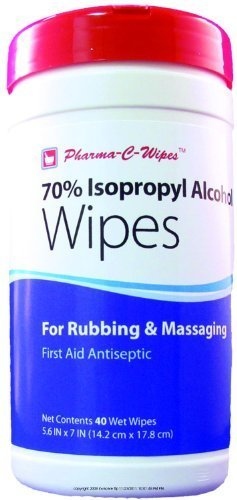 70% Isopropyl Alcohol Wipes [ALCOHOL WIPES CANNISTER 40CT]