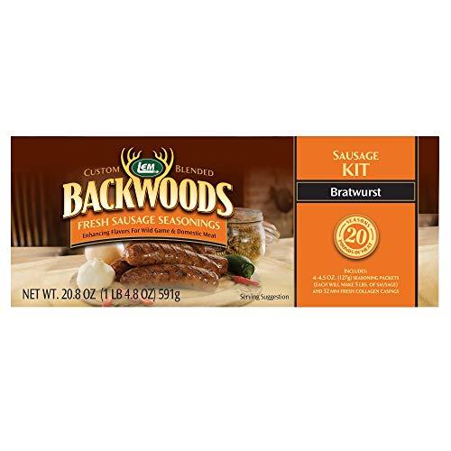(LEM Backwoods Bratwurst Fresh Sausage Kit)