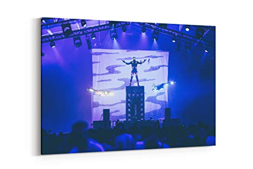 Stage Performer Crowd and Costume in San Diego United States - Canvas Wall Art Gallery Wrapped 40