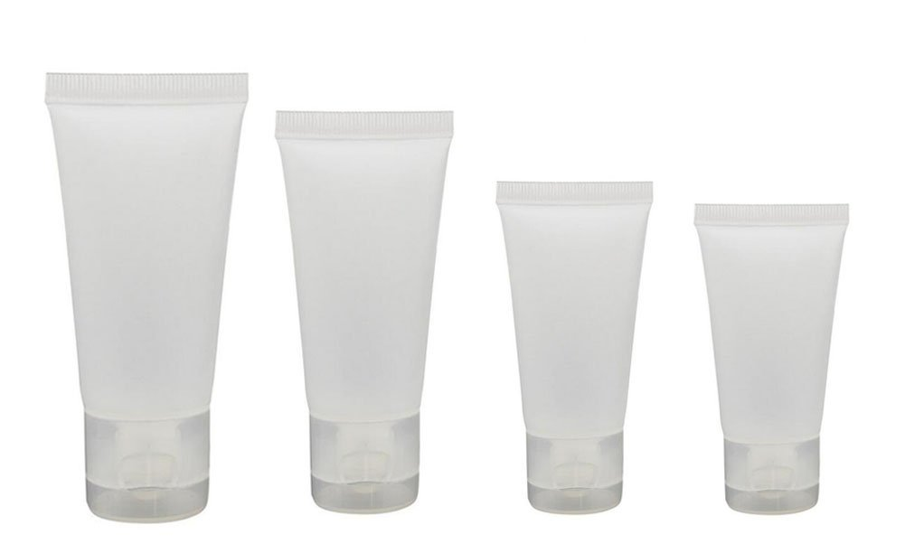 20PCS 50ml Clear Empty Refillable Plastic Soft Tubes Bottle Packing Sample Container For Shampoo Cleanser Shower Gel Body Lotion (50ml) erioctry