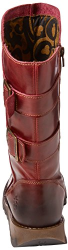 004 Donna Rosso London da Stivali Fly Sack785fly Motociclista Red Svq1OU