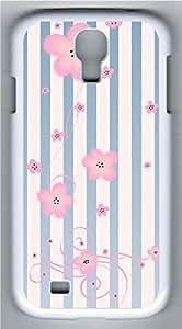 Samsung Galaxy S4 I9500 White Hard Case - The Romantic Streak Galaxy S4 Cases
