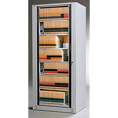 Mayline Hipaa Compliant 7 Tier Accessory Rotary File Dimensions 31 1 2 W X 26 D X 82 1 2 H Pebble Gray