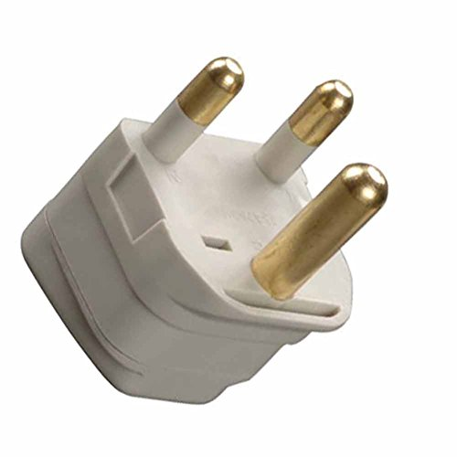 Grounded Connector - Grounded Adapter Plug US to South Africa and Older Parts of Ireland GUE CE Certified
