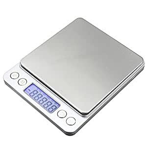 Mini Electronic Digital Gold Jewelry Weighing Coin Food Kitchen Scale 0.1g-3Kg
