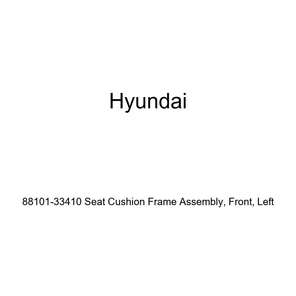 Front Genuine Hyundai 88101-33410 Seat Cushion Frame Assembly Left