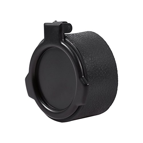 Hunting Scope Cover Dustproof Lens Cap Rifle Flip Open Optic Scope Sight Accessories 50mm