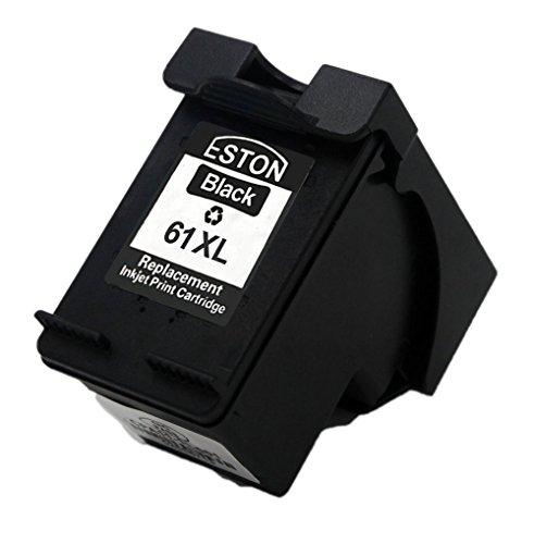 ESTON CH563WN Black Ink Cartridge for 61XL ENVY 4500 4501 4502 4504 5530 5531 5535 Print Cartridge Access Door