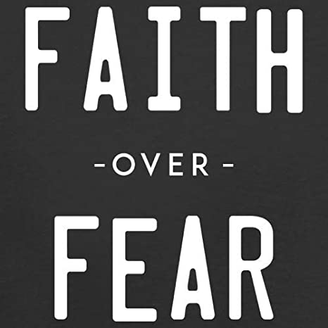 9 Colours Faith Over Fear 1-13 Years Kids Hoodie