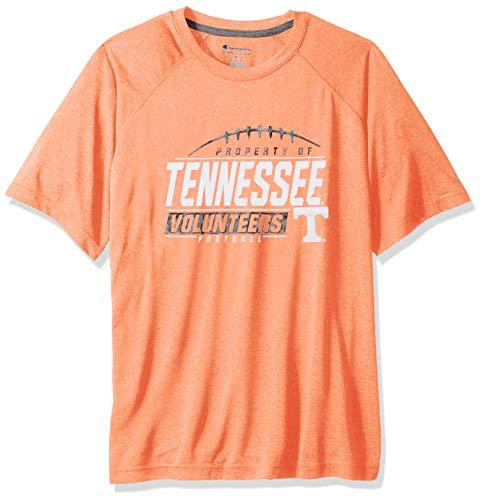 NCAA Tennessee Volunteers Mens NCAA Men's Short Sleeve Football Season Jersey Teechampion NCAA Men's Short Sleeve Football Season Jersey Tee, Heated Orange, Large ()