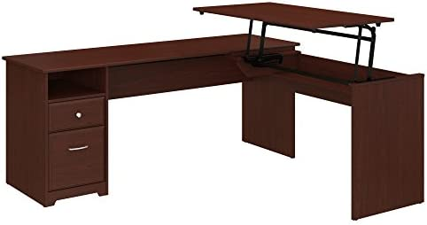Deal of the week: Bush Furniture Cabot 72W 3 Position L Shaped Sit to Stand Desk