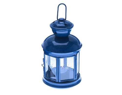 GSI Outdoors Blue Graniteware Fiesta Candle Lantern