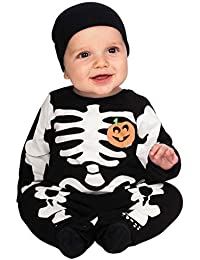 Rubies Costume My First Halloween Black Skeleton Costume, Black
