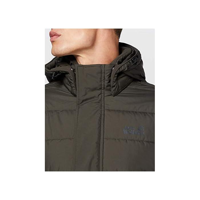 Abrigo corto acolchado Resistente al viento y al agua 100% Poliéster
