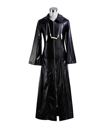 Roxas Costume Halloween Role Play Game Cosplay PU Jacket for Men (X-Large, Jacket) by VOSTE