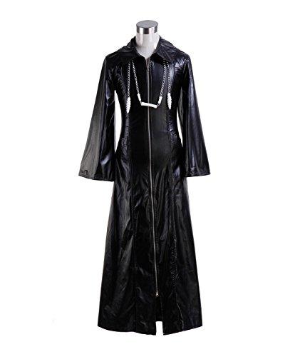 Roxas Costume Halloween Role Play Game Cosplay PU Jacket for Men (Medium, Jacket)