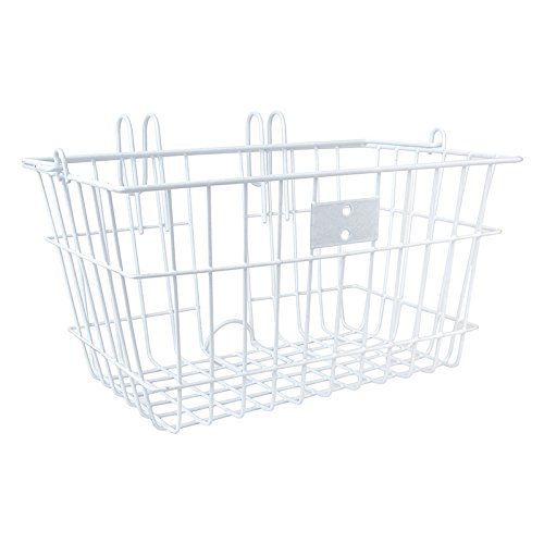 SunLite Wire Lift-Off Front Basket, White