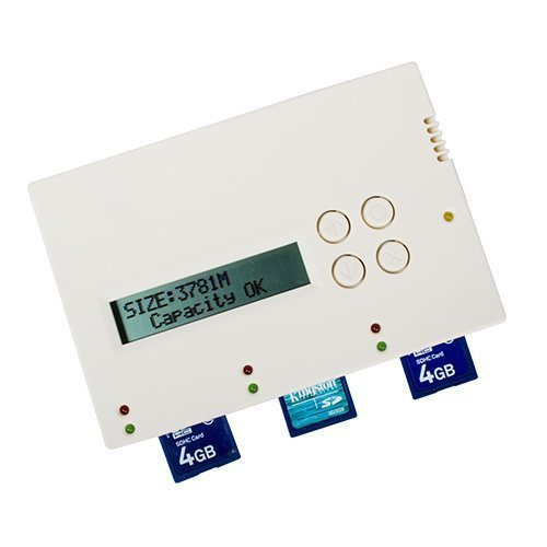 BestDuplicator - 1 to 2 Target SD/MicroSD 1:2 Copy Portable Flash Duplicator by BestDuplicator