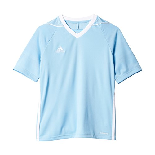 Adidas Youth Tiro 17 Soccer Jersey M Clear Blue/White