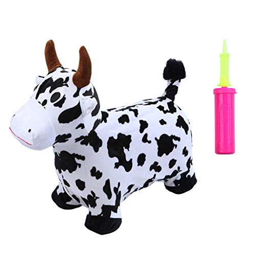 Ikevan_ 2019 Hopper Toy Hopping Horse, Outdoors Ride On Bouncy Animal Play Toys, Inflatable Hopper by Ikevan_ (Image #3)