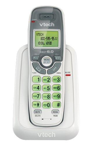 Vtech Cs6114 Cordless Phone - Dect - White - 1 X Phone Line - Caller