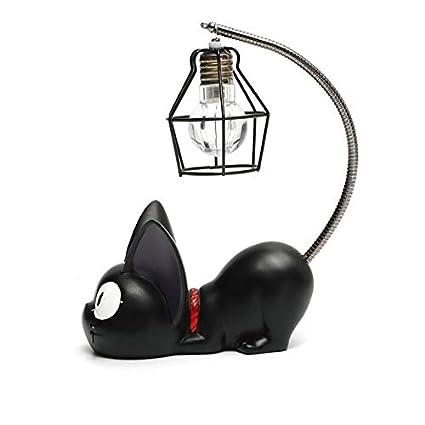 Lámpara De Noche Mágica con Dibujo De Gato Animal Lámpara De ...