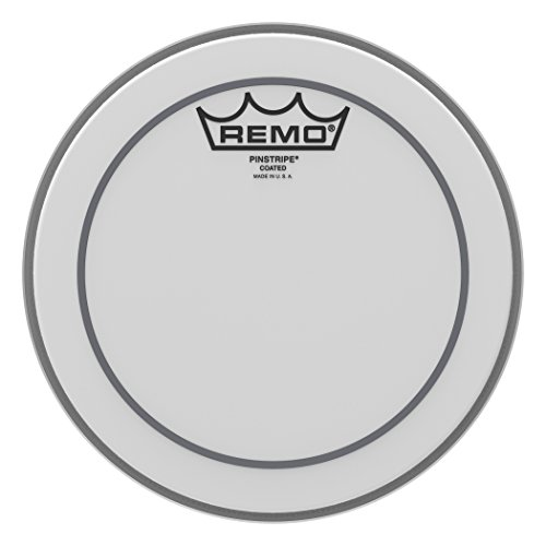 Remo PS0108-00 Coated Pinstripe Drum Head (8-Inch) ()