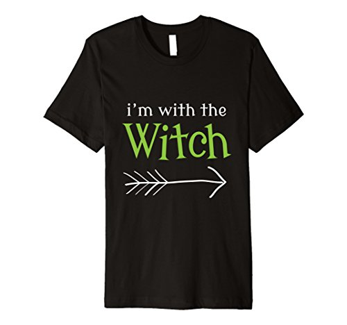 Mens Funny Witch Couples Halloween Costume Husband Boyfriend Gift XL Black