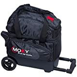 Moxy Bowling Products Single Deluxe Roller Bowling Bag- Black