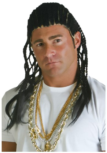 [Fun Costumes unisex-adult Corn Row Wig Standard] (Cornrow Wigs)