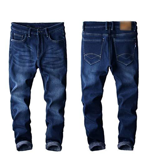E Pantaloni Super Libero Casual Uomo Tempo Denim Stile Nero Ragazzi Moda Classiche Stretch T Jeans Da Vintage q6rtrBYS