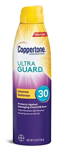 Coppertone ULTRA GUARD Sunscreen Continuous Spray SPF 30 (Body Spray Spf 30 Sunblock)