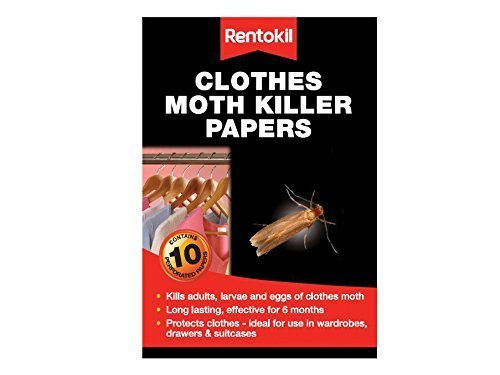 Clothes Moth Killer Papers - Pack of 30 by Rentokil
