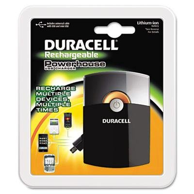 Duracell - Powerhouse Charger Universal Cable W/Usb & Mini-Usb Product Category: Breakroom And Janitorial/Batteries & Electrical Supplies