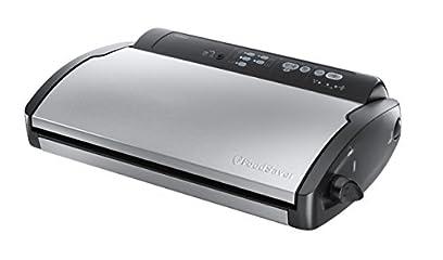 FoodSaver V2860-I Appareil de mise sous vide 3 vitesses d'aspiration 2 niveaux de soudure 105 W Noir/Inox