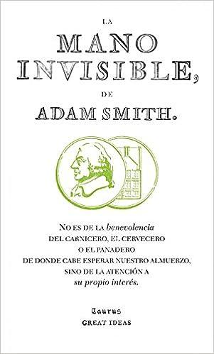 La mano invisible (Serie Great Ideas 15) - Livros na Amazon Brasil-  9788430601011 964a7896118