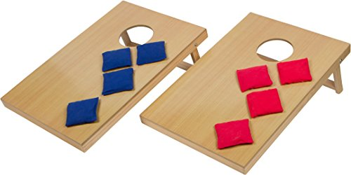 """16"""" Mini Tabletop Bean Bag Toss Game For Indoor Use - by Trademark Innovations"""