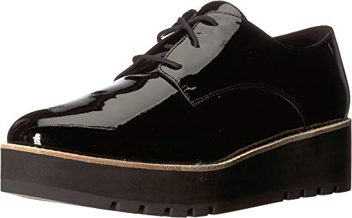 Eileen Fisher Womens Eddy Patent Leather Platform Black Patent Leather Oxford - 9.5 from Eileen Fisher
