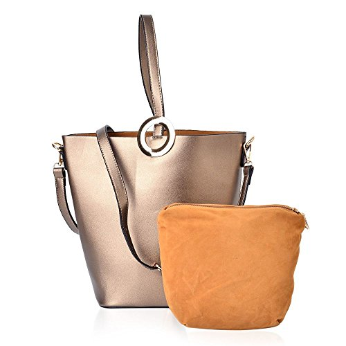 Gold with Set Handbag Strap Shoulder Adjustable 2 Removable small Large of and YYqrPw