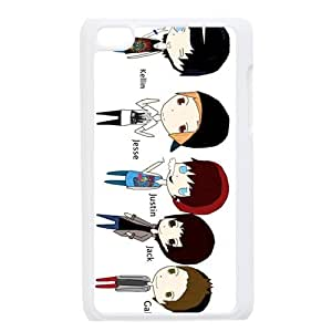 Print Hot Band Sleeping With Sirens Cool Pictures Design Hard Plastic Case PC Shell for iPod touch 4 TPU Case-2