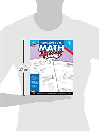 Workbook 4th grade spanish worksheets : Carson Dellosa Common Core 4 Today Workbook, Math, Grade 2, 96 ...