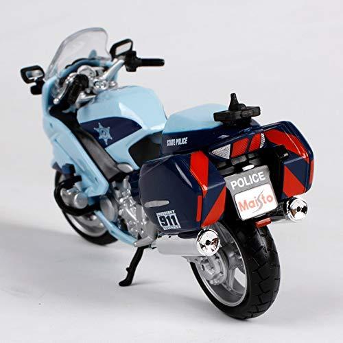 Amazon.com: Greensun Yamaha FJR 1300A R 1200 RT Police 1:18 ...