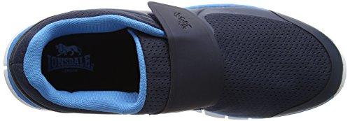Lonsdale Herren Lima Velcro Outdoor Fitnessschuhe Blau (Navy/process Blue)