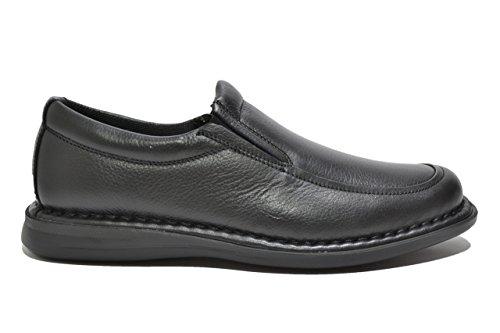 FRAU 38P5 nero scarpe uomo mocassino comfort Nero