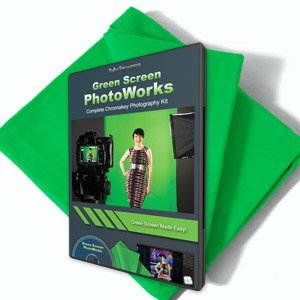 Green Screen PhotoWorks - Digital Photography Kit